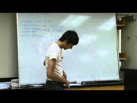 Lab 2: Solar Power Measurement, Part I: Lecture