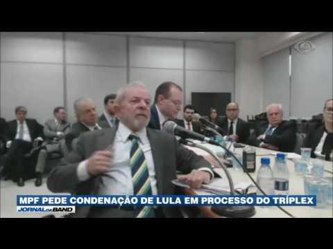 MPF pede condenação de Lula em processo do tríplex