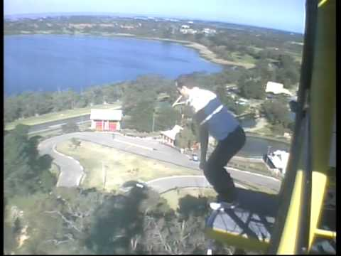 Bungee jumping in perth