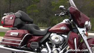 Used 2010 Harley Davidson Ultra Classic Electra Glide Motorcycle for sale