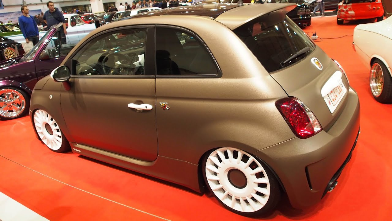 Abarth 500 Tuning At Essen Motorshow Exterior Walkaround