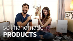 How to sell handmade products