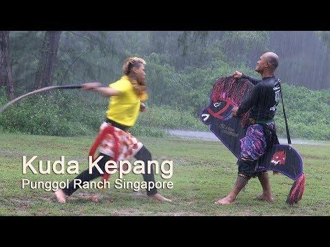 Kuda Kepang - Javanese Horse Trance Dance In Singapore