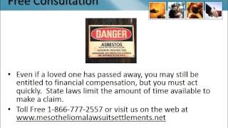 Mesothelioma Lawyer Braddock Pennsylvania 1-866-777-2557 Asbestos Lawsuit Lung Cancer   PA