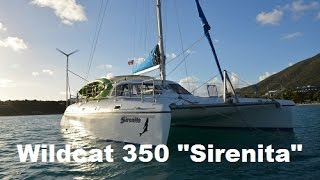 2003 Wildcat 350 Catamaran Sailboat