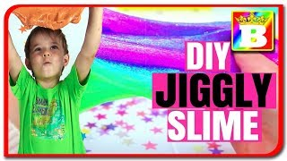 Jiggly SLIME DIY. SLIME TREMURICI  De ce nu am reusit? Bogdan`s Show