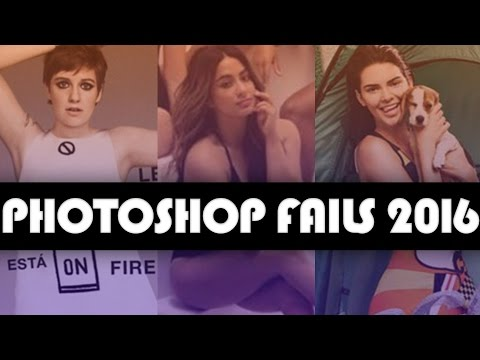 10 BIGGEST Celeb Photoshop Fails of 2016