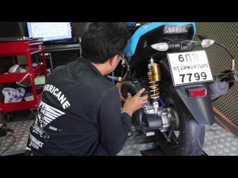 Hurricane Air Filter - Dyno Test - Yamaha AEROX 155cc