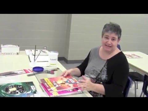 Réparation de livres endommagés - Remonter une bande dessinée