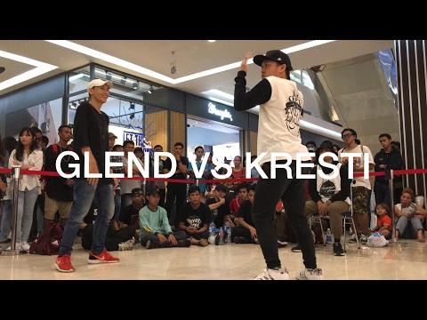 Glend vs Kresti | Semi-Final | 1on1 ALL STYLE BATTLE | Money In The Cap | Manado