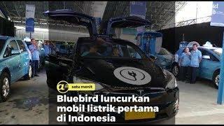 Bluebird Luncurkan Mobil Listrik Pertama di Indonesia