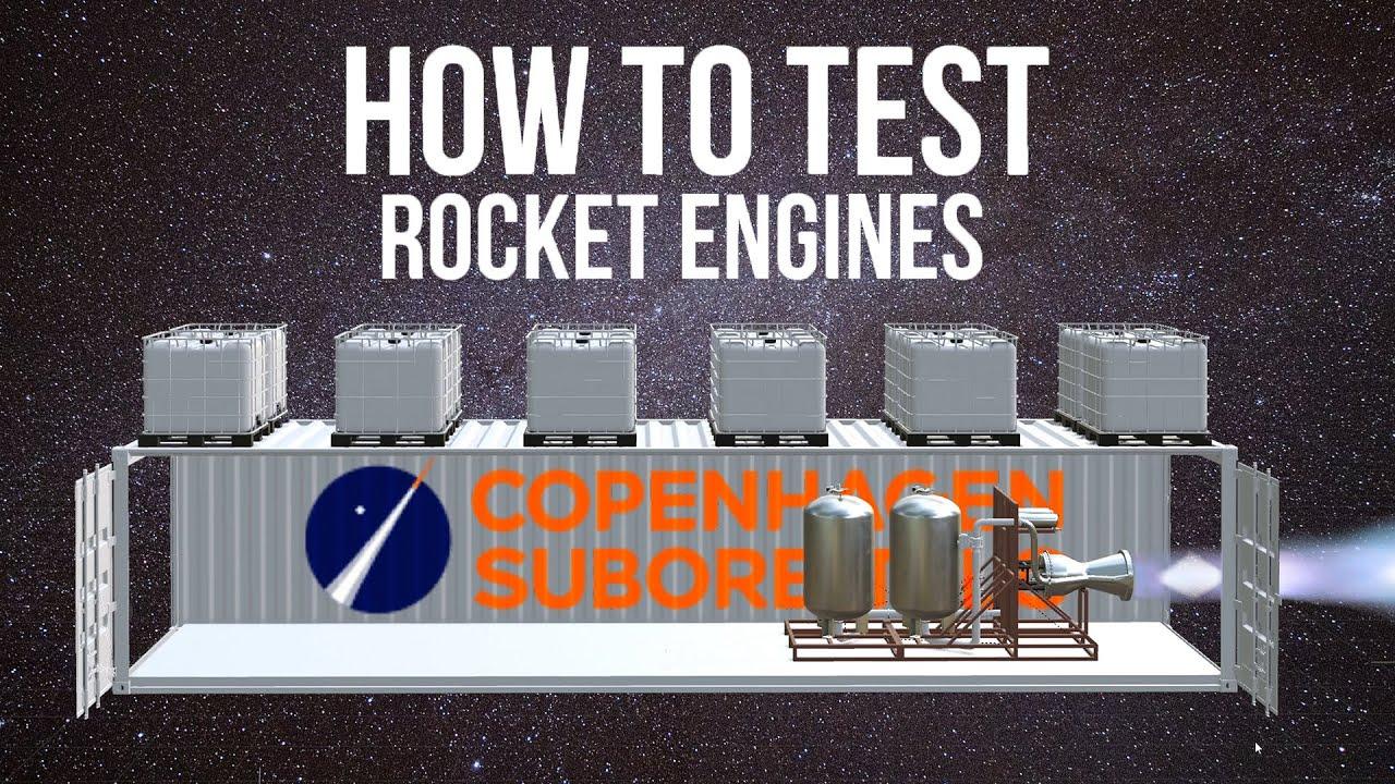 Roket Motoru Test Standı