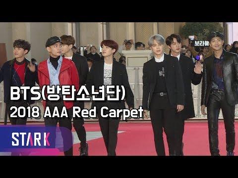 방탄소년단, 비주얼 만렙소년단 (BTS, 2018 AAA Red Carpet)