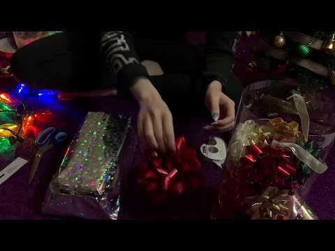 ASMR Wrapping Christmas Gifts 🎄🎁
