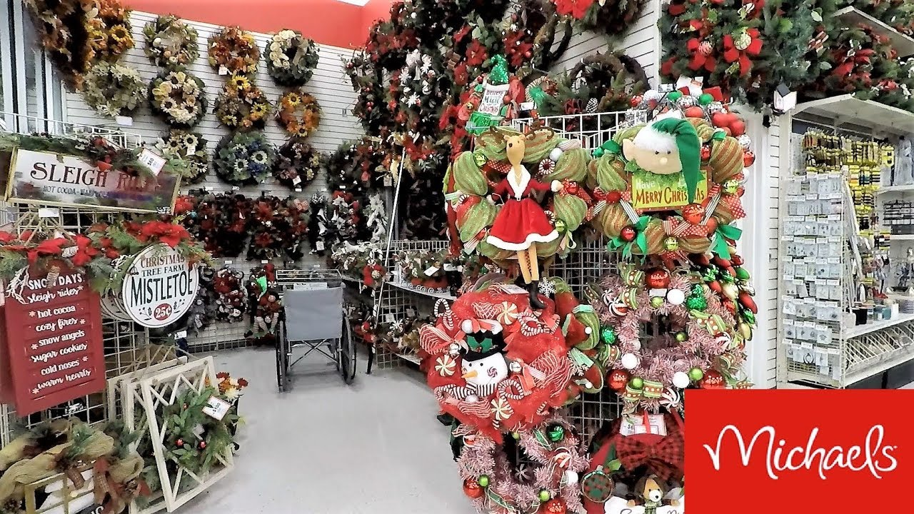 christmas 2018 at michaels christmas decorations ornaments home decor shopping