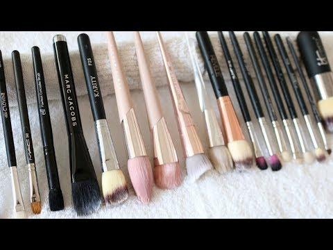 How I Clean My Makeup Brushes, Sponges and False Eyelashes