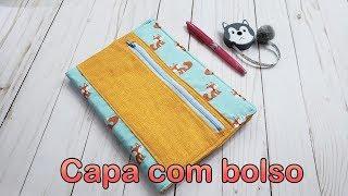 Faça Capa com Estojo para Caderno e Livros