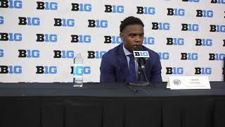 Penn State wide receiver Jahan Dotson on offensive coordiantor Mike Yurcich
