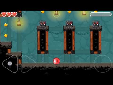 Red Ball 4 | Into The Cave Level 63 | Android Gameplay & Walkthrough