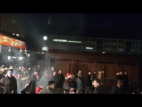 Silvester Hauptmarkt Nürnberg 2017/18