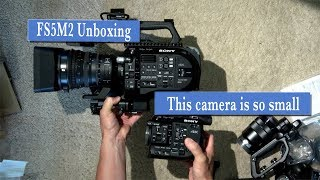Sony FS5M2 Unboxing