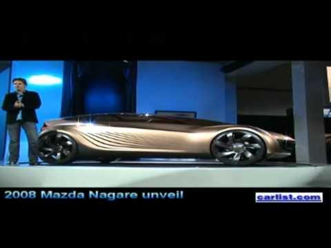 2008 Mazda Nagare concept unveil