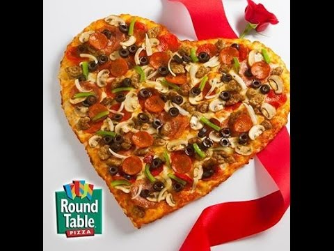 Round table pizza notices aris youtube for Table a pizza