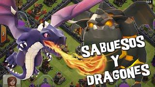 Lavas y dragones con Ayuntamiento 9 | Ataques #38 | Descubriendo Clash of Clans