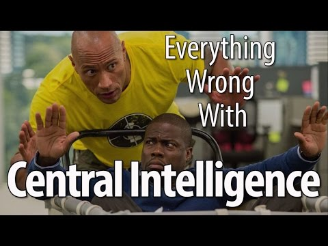 Everything Wrong With Central Intelligence In 17 Minutes Or Less