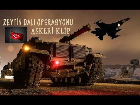 AFRİN ZEYTİN DALI HAREKATI - ASKERİ KLİP -