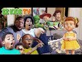 Toy Story 4 Toys Are Missing! (Gabby Gabby Plays Tricks on YouTube Families!)