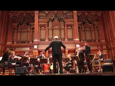 2017/11/17 NEC Jazz Chamber Orchestra Live at Jordan Hall (Boston, USA)