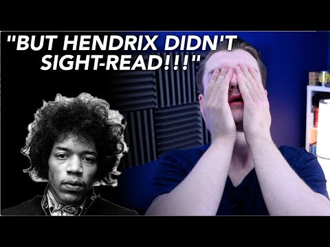 'If Hendrix Didn't Know Theory, Why Should I Bother?' (Rant)