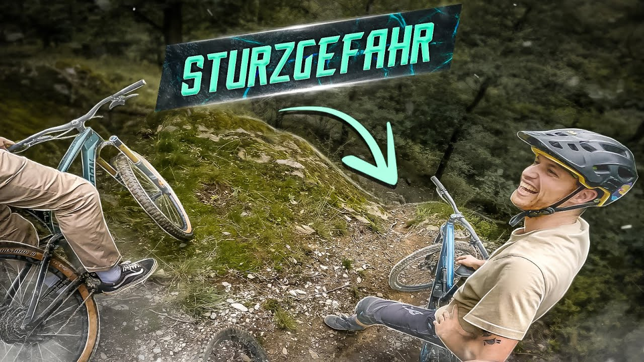 Download STURZGEFAHR! 2 von 3 stürzen auf diesem Trail - MTB ENDURO mit Canyon Spectral 29 - HOMETRAILS