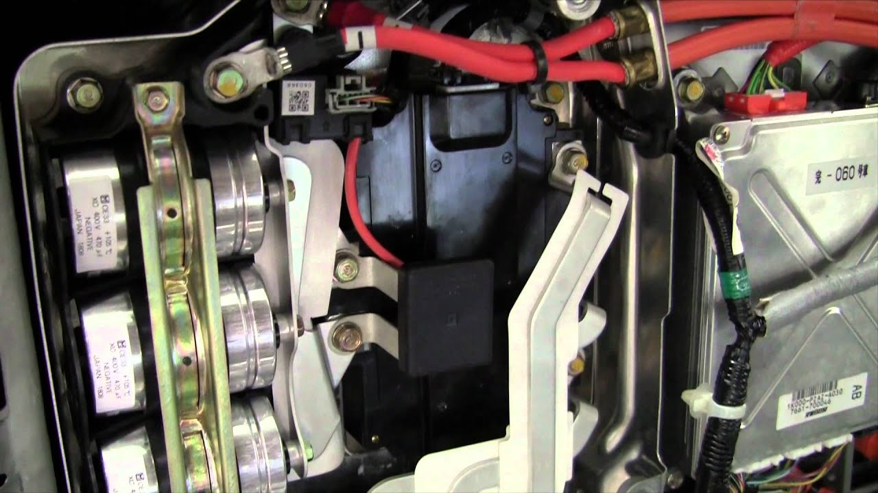 hight resolution of honda civic hybrid high voltage system operation