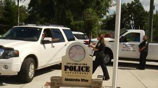 Belle Isle police raise money for Hurricane Michael