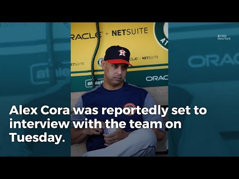 Report: Mets To Interview Cora For Manager Job