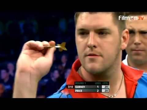 Daryl Gurney celebrating after Miscounting? - 2016 PDC European Championship
