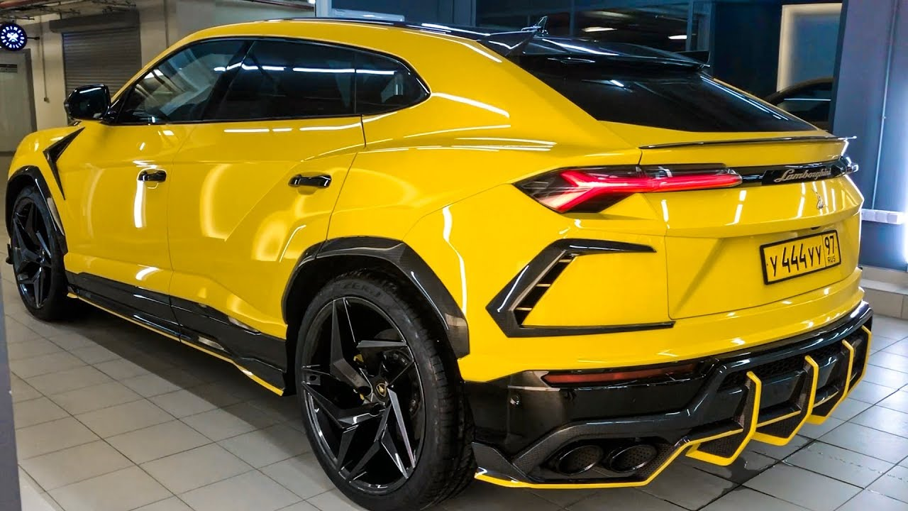 2019 Lamborghini Urus , Excellent project from TopCar