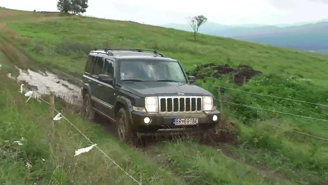 jeep commander predajn mini jump mud youtube. Black Bedroom Furniture Sets. Home Design Ideas