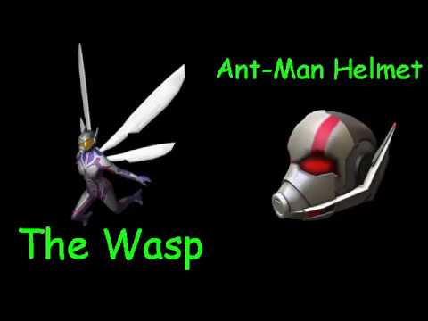 New 2 Free Items The Wasp And Ant Man Helmet Roblox Youtube