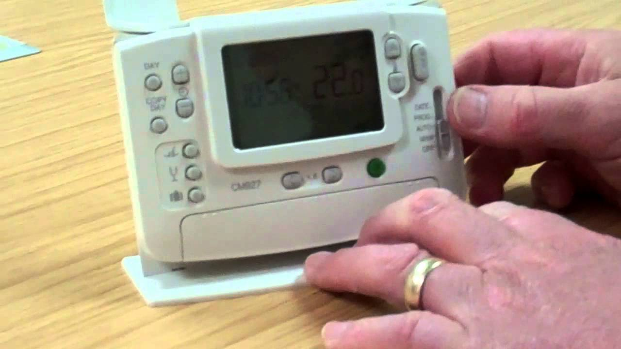 How To Bind A Honeywell Chronotherm Thermostat