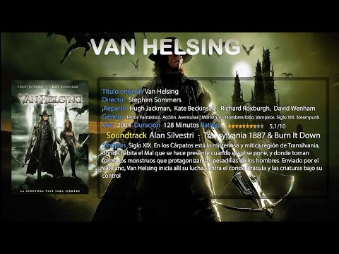 Van Helsing - Alan Silvestri  -  Transylvania 1887 & Burn It Down