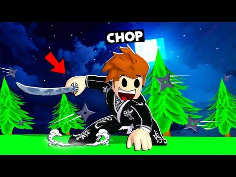 CHOP BECOMES A REAL LIFE NINJA IN ROBLOX