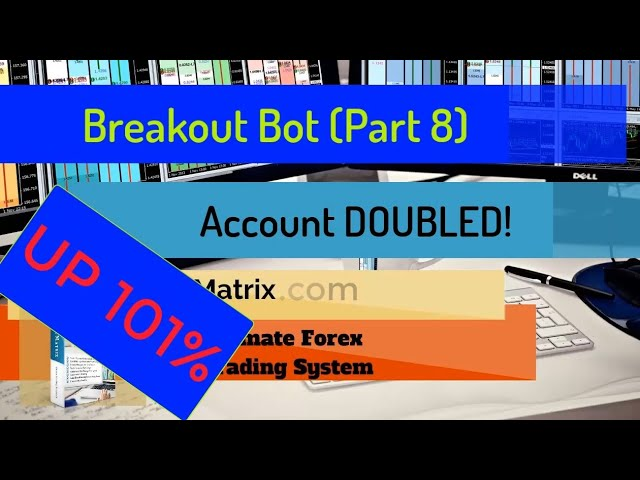 UP +101%!! FibMatrix Breakout Bot (PART 8) Automated Forex Trading Software Doubles Account !!