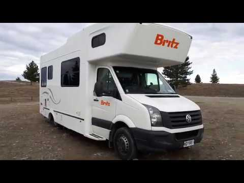 Britz 6 Berth Volkswagen Motorhome Campervan Walkaround | Britz New Zealand