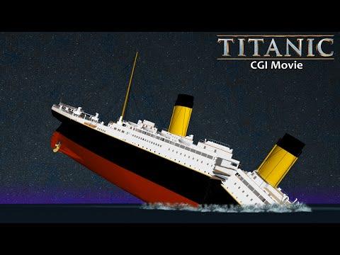 ►Titanic 3D Animation - Extended Version (2015)◄