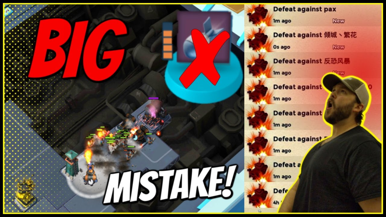 BIG MISTAKE! Artillery is NOT The Answer in Season 12! // Boom Beach Warships