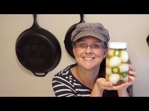 Spicy Jalapeno Pickled Eggs!