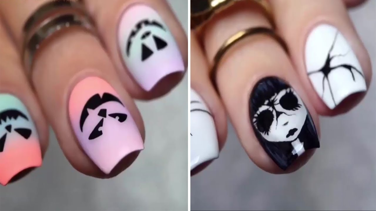 New Nail Art 2017 , The Best Halloween Nail Designs Ideas!